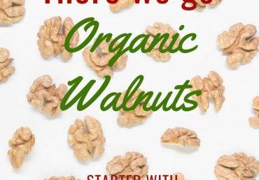 Organic Walnuts Crop 2020